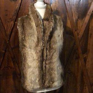 Forever21 faux Fur Vest Sz M